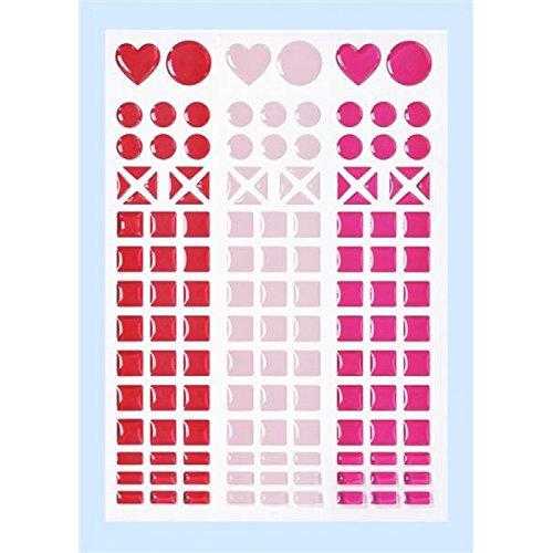 MOSAIK Sticker * rot - rose - pink * Aufkleber 3451801 -