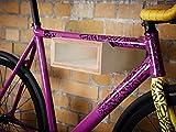 Nonstop Furniture Fahrrad Wandhalter Hikee, Fahrradregal, Wandhalterung in Elegantem Design, Holz, weiß