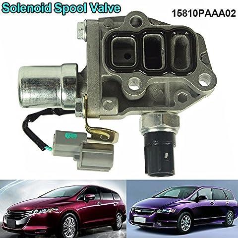 ROKOO Genuine VTEC Solenoid Spool Valve Fits for 1998-2002 Honda Accord Odyssey 4 Cyl