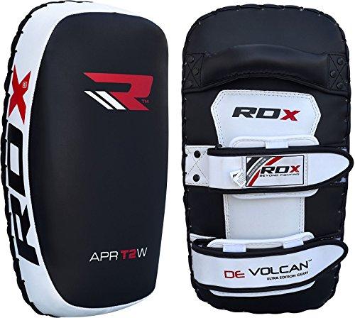 RDX Kampsport Schlagpolster Kickschild Boxpratzen Schlagkissen Kickboxen Trittkissen (Das Paket Enthält Einzelstück)