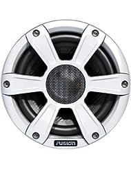 Fusion Marine leistungsstarke Lautsprecher Sport Grill und LED Beleuchtung –Weiß, 16,5cm