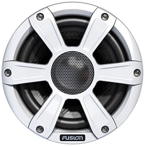 Marine-grill (Fusion Marine leistungsstarke Lautsprecher Sport Grill und LED Beleuchtung –Weiß, 16,5cm)