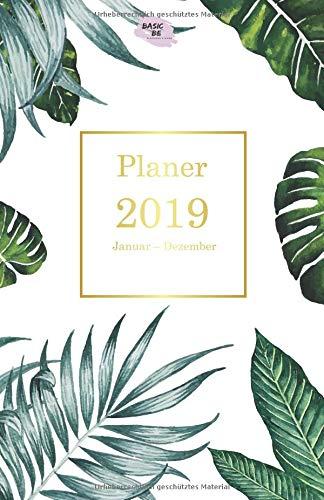 Planer 2019: Wochenplaner A5 - 365 Tage planen, notieren und erledigen für mehr Klarheit, Struktur & Produktivität | To-Do-Listen & Notizfelder für ... Schreiben, Rechnen und Kritzeln |  Jan - Dez