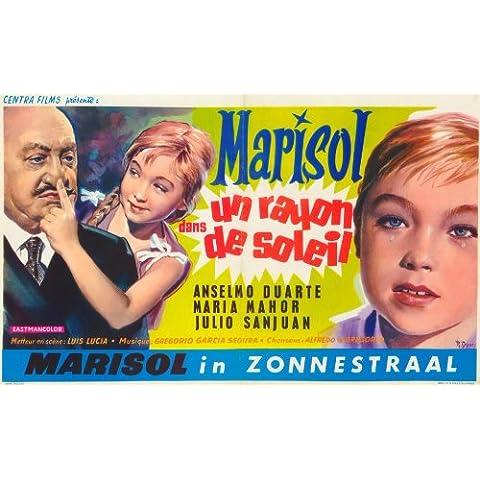 Rayo de luz, Un póster de película Belgian 11 x 17 - 28 cm x 44 cm en Marisol Anselmo Duarte María San Juan María del Valle Mahor