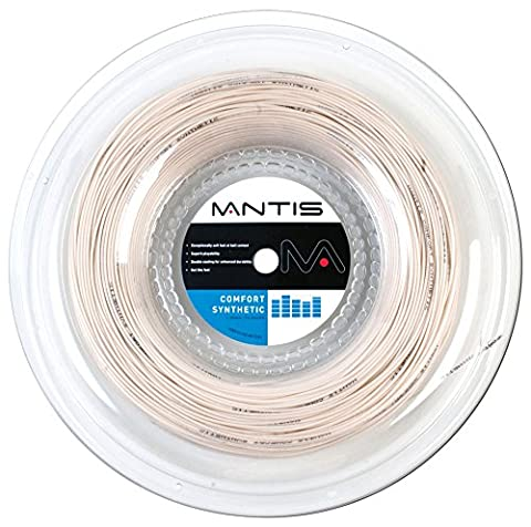 Mantis Comfort Synthetic Tennis String - 200m Reel, Color- Natural