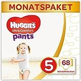 Huggies Windeln Ultra Comfort Pants Größe 5 Monatsbox, 1er Pack (1 x 68 Stück)