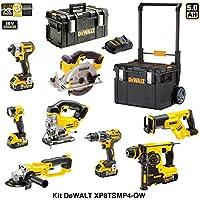 DEWALT Kit XP8TSMP4-QW 18V (DCF887 + DCL040 + DCG412 + DCD796 + DCH253 + DCS331 + DCS391 + DCS387 + 4 x 5,0 Ah + DCB115 + DS 300 + DS450 DWST1-75668)