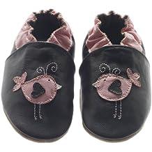 Jack & Lily Birdie brown - Zapatos de primeros pasos bebé