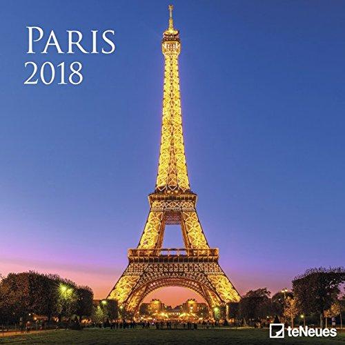 kalender, Broschürenkalender, Wandkalender - 30 x 30 cm (Paris France Deko-ideen)