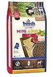 bosch HPC Mini Adult mit Lamm & Reis | Hundetrockenfutter für ausgewachsene Hunde kleiner Rassen, 1 x 1 kg