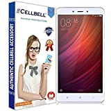 #1: Cellbell TM Xiaomi Redmi Note 4 9H Premium Tempered glass screen protector with FREE Installation Kit