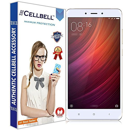 CELLBELL® Tempered Glass Screen Protector For Xiaomi Redmi Note 4...