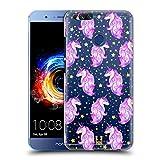 Head Case Designs Sterne Einhoerner Und Galaxie Ruckseite Hülle für Huawei Honor 8 Pro