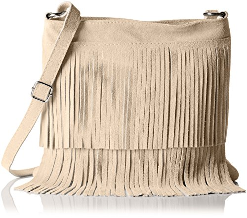 Bags4Less Damen Tipsi Umhängetasche, Beige (Sand), 10 x 30 x 30 cm