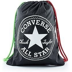 Converse 2018 Mochila Tipo Casual, 46 cm, 19 litros, Negro