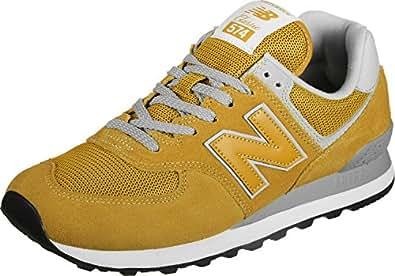 new balance hombre gold