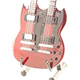 Mini Guitars - Chitarra Replica Gibson Doubleneck Signature Jimmy Page Led Zeppelin Music Legends Collection