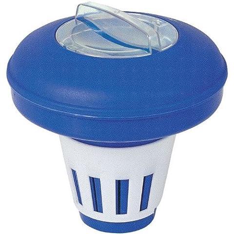 Distributore galleggiante di cloro in pasticche per