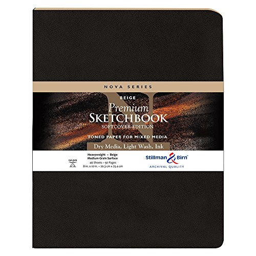 Stillman & Birn Nova Softcover Sketchbook, Beige, 8x10 Inches