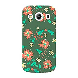 INKIF Graffiti Designer Case Printed Mobile Back Cover for Samsung Galaxy Ace 4 (Multicolor)