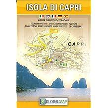 Topographische Karte Isola di Capri 1:8000