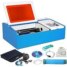 Autovictoria Máquina de Grabado Láser CO2 Grabado Láser 40W Laser Cutter Laser Engraver ...