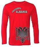 FUSSBALL - FANARTIKEL - ALBANIEN FANSHIRT 5134(HL-R) Gr. XL