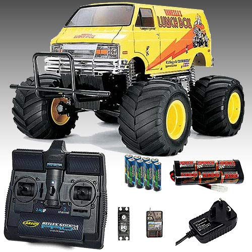 TAMIYA Lunch Box RC Car Deal Bundle. Radio, Battery & Charger All Included 58347