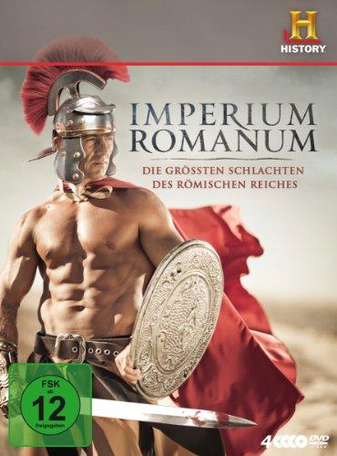 Antike Geschichte Griechische Kostüm - Imperium Romanum - Die größten Schlachten des Römischen Reiches [4 DVDs]