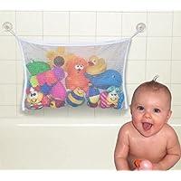 Preisvergleich für Baby Badespielzeug Tasche Netz Organizer Badewanne Aufbewahrung Bad Tasche Halter Sammler