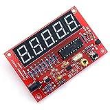 testeur pour oscillateur a quartz - TOOGOO(R)50 MHz compteur de frequence d'oscillateur a quartz testeurs DIY Kit ecran numerique rouge