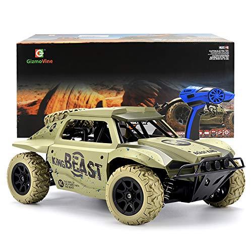 Ferngesteuertes Auto 1 18 Skala 4WD 2,4GHz Radio Control Gel ndewagen Fernbedienung Racing Rennauto Auto Spielzeug Fahrzeug Kurzer LKW*
