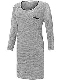 c50eb8a146fa72 Nachthemd Damen Schlafshirt Bigshirt kurz lang Motto Spruch Shirt Baumwolle