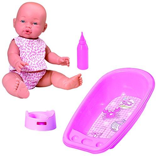 Rosa Toys - Muñeco bebé con bañera y Accesorios (1143)