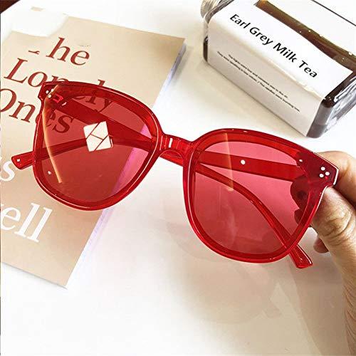 Siwen Neue Frauen übergroße Sonnenbrille Cat Eye Men Fashion Square Sonnenbrille Uv400,C02