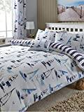 Catherine Lansfield Padstow Bedding Range [Option - Padstow single duvet cover set] [Colour - multi]