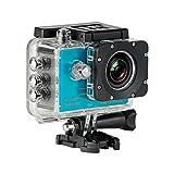 SJCAM SJ5000 (versión española) - Videocámara deportiva (LCD 1.5'', 1080p, 30 fps, sumergible hasta 30 m), color azul