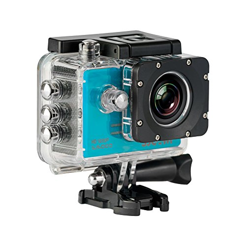 SJCAM SJ5000 action camera (LCD 1.5'', Full HD 1080p, 30 fps, sumergible hasta 30 m), color azul