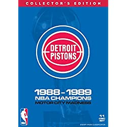 NBA: Detroit Pistons 1988-89 Champions (11 Disc Box Set)