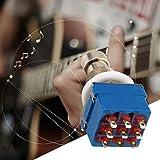 Swiftswan 9-polig 3PDT Gitarreneffektpedal Box Stomp Foot Metal Switch True Bypass
