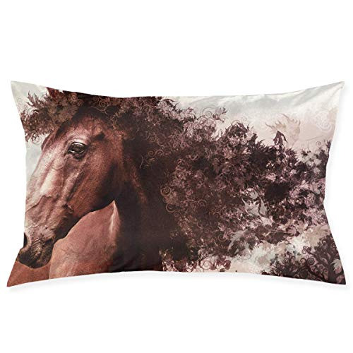 ng Pillowcase - Zippered Pillowcase, Pillow Protector, Best Pillow Cover - Standard Size 20x30 Inches, Double-Sided Print ()
