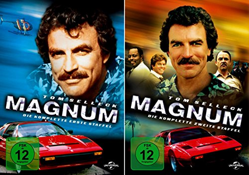 Magnum - Die komplette 1. + 2. Staffel (12-Disc | 2-Boxen) -