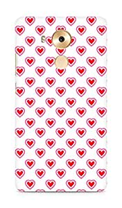 Amez designer printed 3d premium high quality back case cover for Huawei Mate 8 (Heart Pattern7)