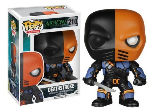 Funko Pop TV Arrow Deathstroke Vinyl Action Figure 5343 Collectible Toy, 3.75 by unbrand