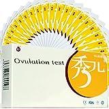 FMXYMC 10Pcs Ovulation Test Strip Predictor Fertility Stick Risultati accurati Altamente sensibili Riconoscimento Automatico Veloce