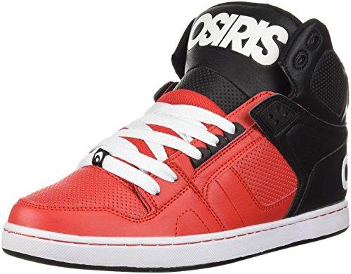 Osiris NYC 83 CLK Shoes - Red/Black/White UK 9