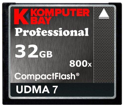 Komputerbay 32gb professional compact flash scheda 800x cf 120mb/s velocità estrema udma 7 raw