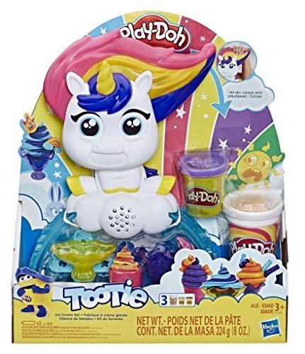 Play-Doh - Unicornio Helados Deliciosos (Hasbro E5376EU4)
