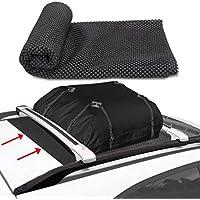 MKISHINE coche protección techo alfombrilla antideslizante para portadores de bolsas de almacenamiento de carga superior (91 x 105 cm)