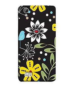 PrintVisa Designer Back Case Cover for Vivo Y31 :: VivoY31L (Texture Illustration Theme Multicolour Backcase Pouch)